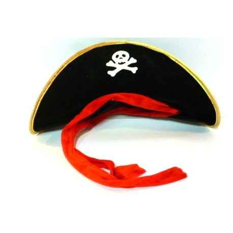 Gorro Pirata Tela Adulto