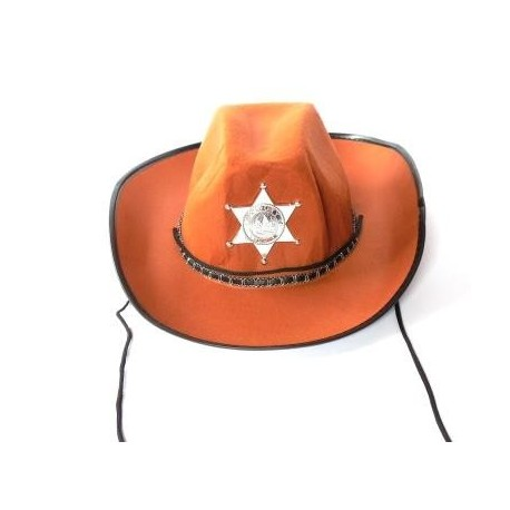 Gorro Sheriff cafe