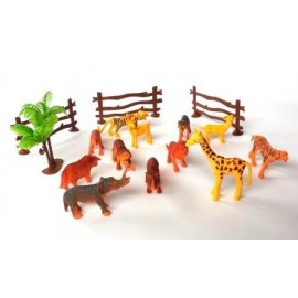 Set Animales Selva